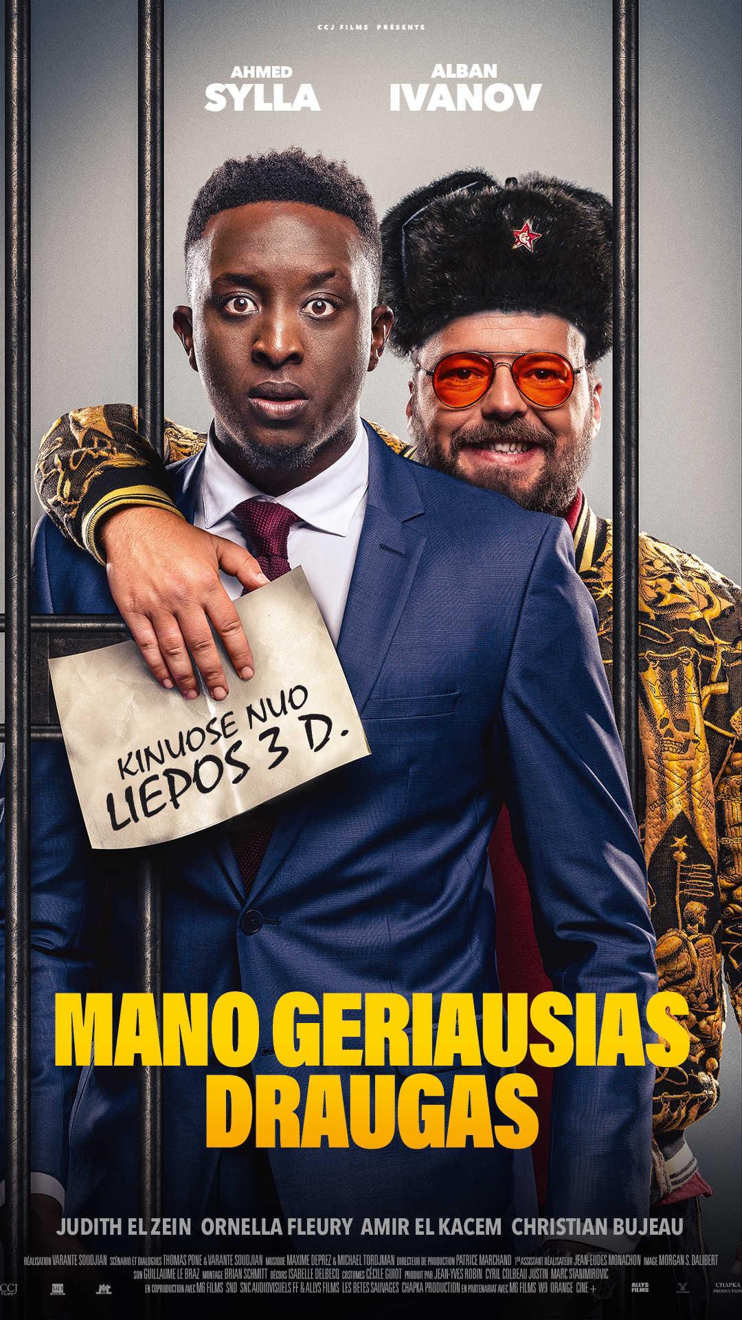 MANO GERIAUSIAS DRAUGAS (A Very Bad Friend)