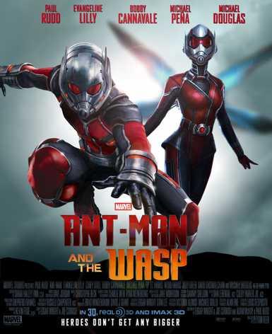 Skruzdėliukas ir vapsva (Ant-Man and the Wasp)