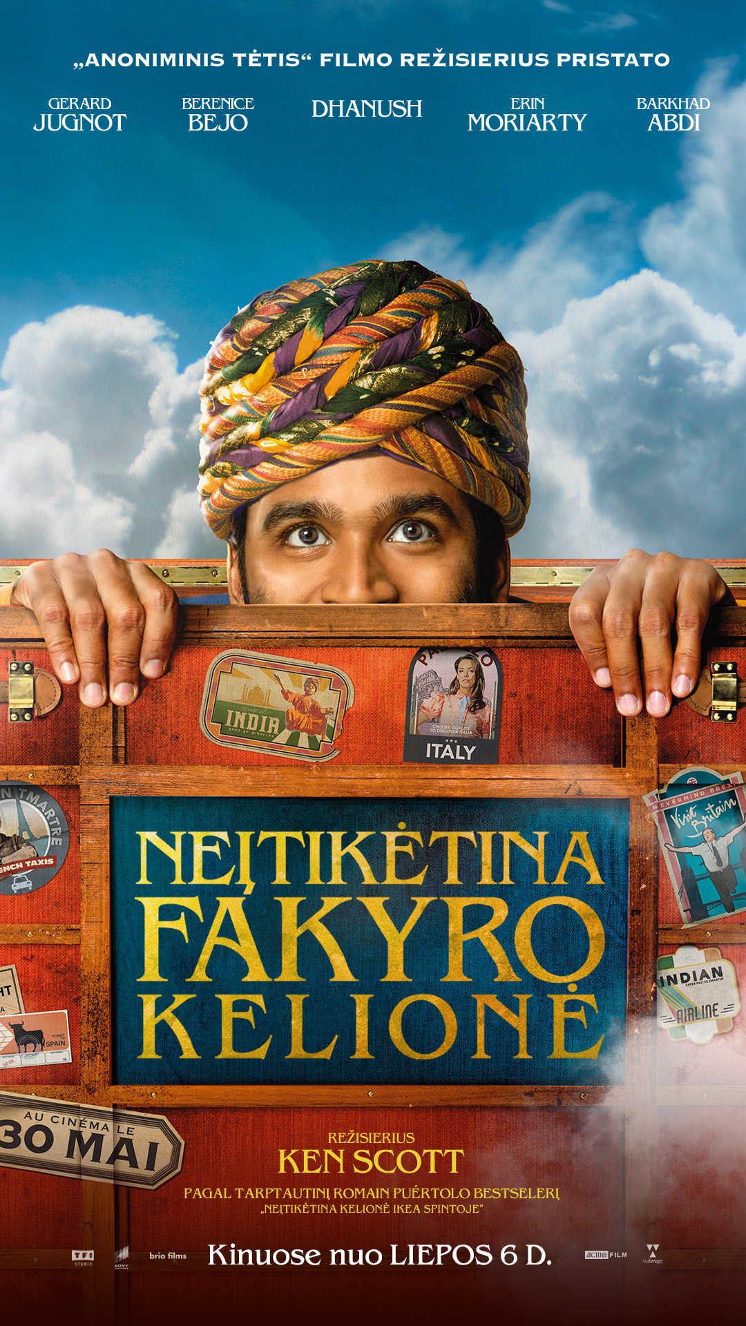 NEĮTIKĖTINA FAKYRO KELIONĖ (Extraordinary Journey of the Fakir)