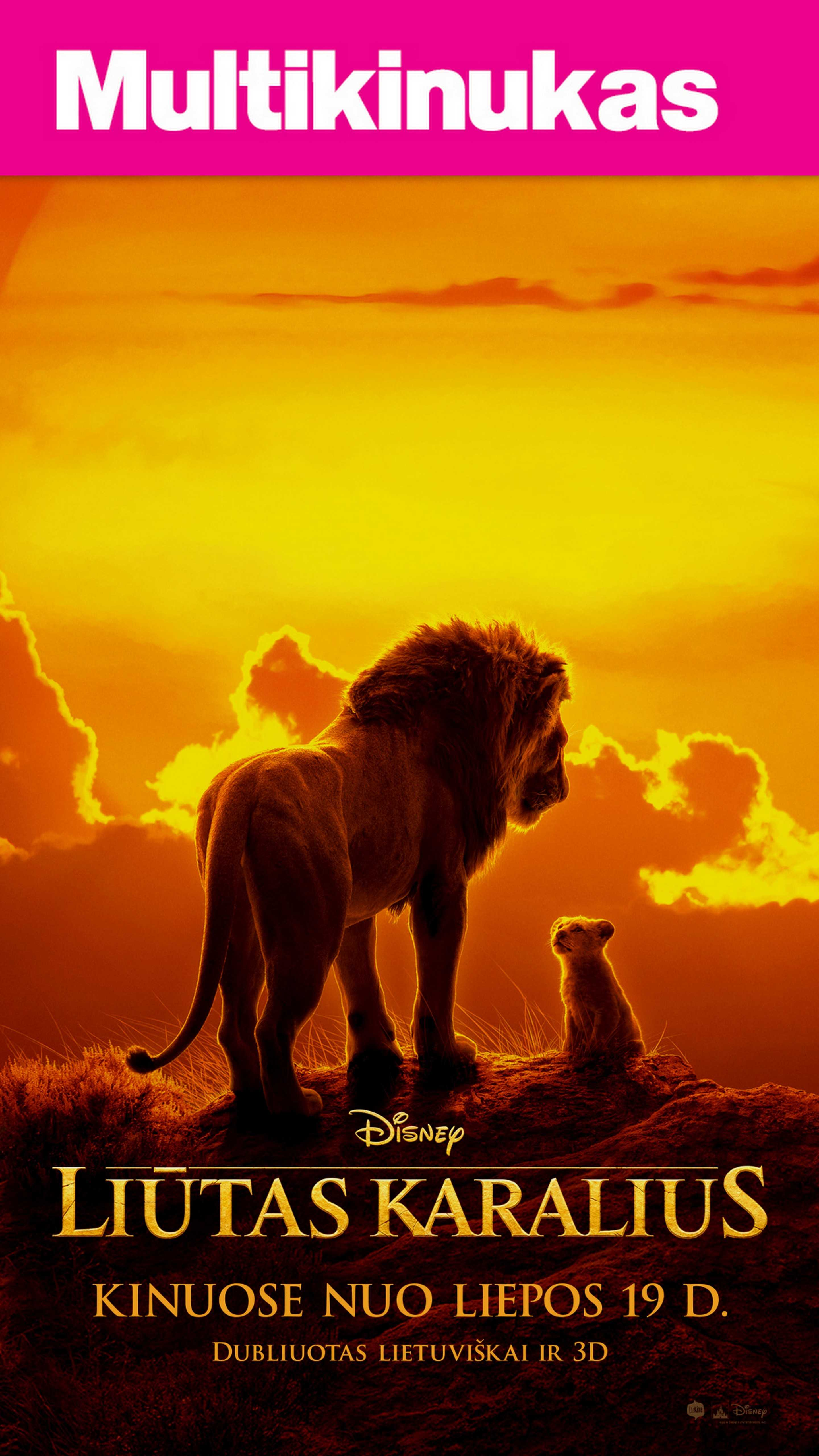 Multikinukas: LIŪTAS KARALIUS (Lion King)