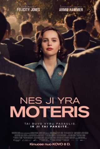 Nes ji yra moteris (On the Basis of Sex)