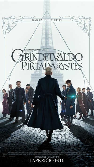 FANTASTINIAI GYVŪNAI: Grindelvaldo piktadarystės (Fantastic Beasts: The Crimes of Grindelwald)