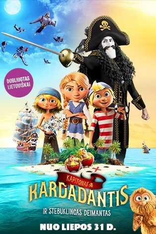 KAPITONAS KARDADANTIS IR STEBUKLINGAS DEIMANTAS (Captain Sabertooth and the Magic Diamond)