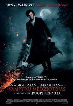 Abraomas Linkolnas. Vampyrų medžiotojas 3D