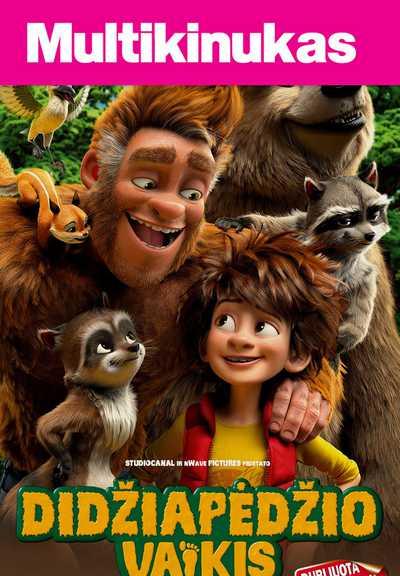 Multikinukas: Didžiapėdžio vaikis (Son Of Bigfoot)