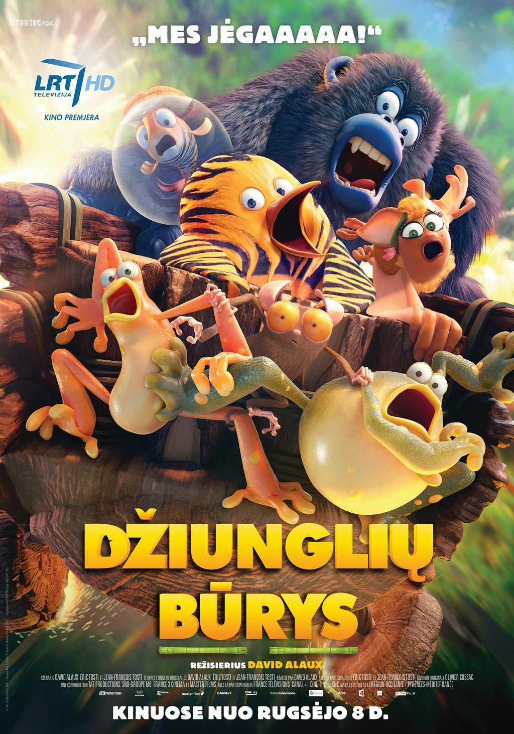 Džiunglių būrys (Jungle Bunch)