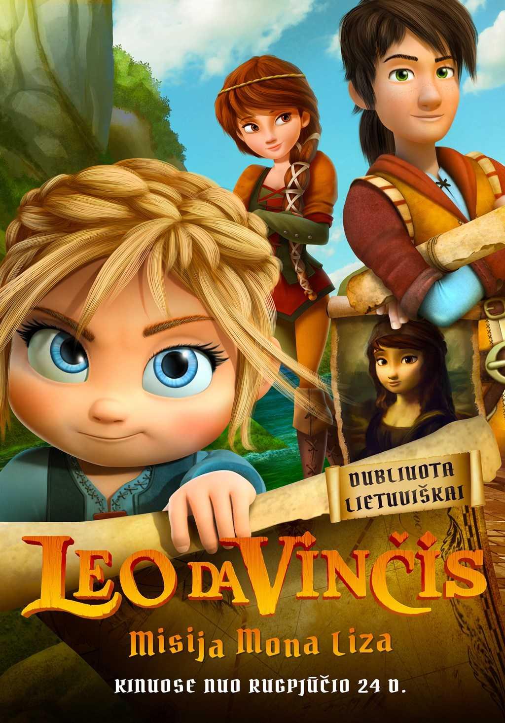 Leo da Vinčis: Misija Mona Liza (Leo Da Vinci: Mission Mona Lisa)