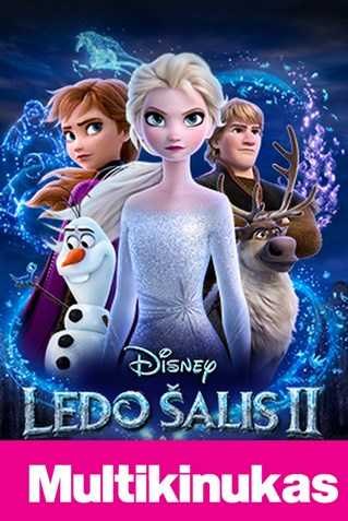 Multikinukas: LEDO ŠALIS 2 (Frozen 2)