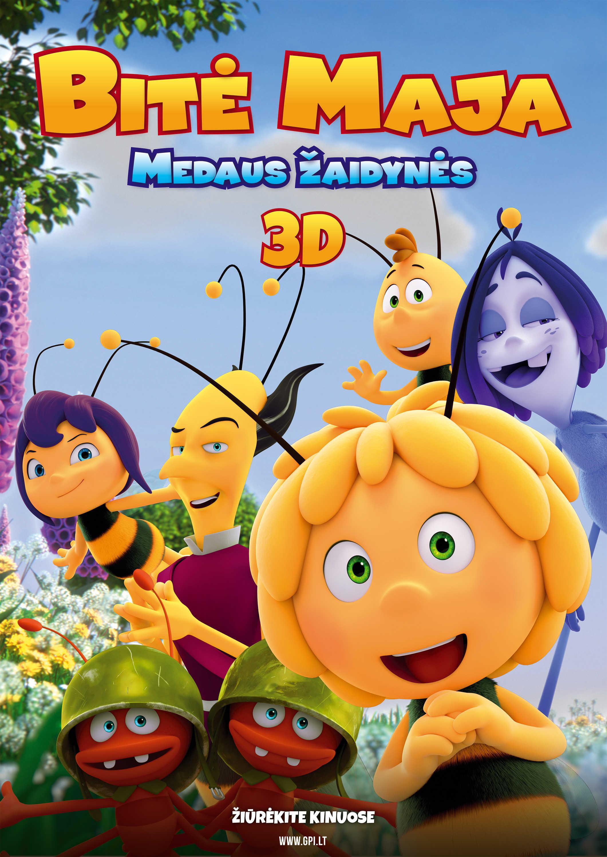 Bitė Maja: Medaus žaidynės (Maya the Bee: The Honey Games)
