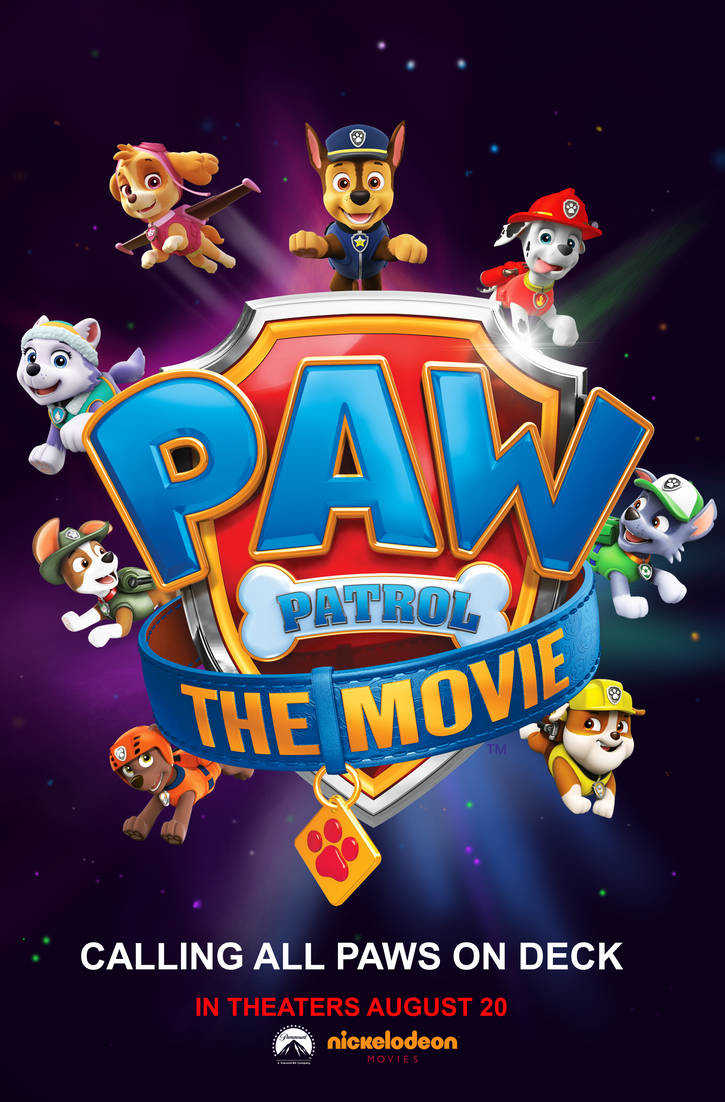 ŠUNYČIAI PATRULIAI. FILMAS (Paw Patrol: The Movie)