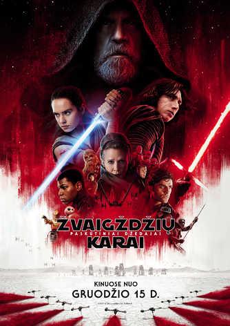 Žvaigždžių karai: Paskutiniai Džedajai (Star Wars: The Last Jedi)