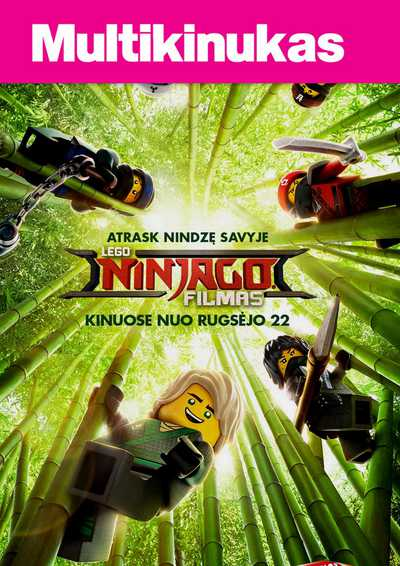 Multikinukas: Lego Ninjago filmas (The LEGO Ninjago Movie)