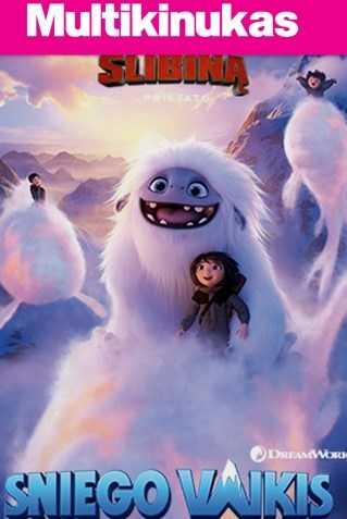 Multikinukas: SNIEGO VAIKIS (Abominable)