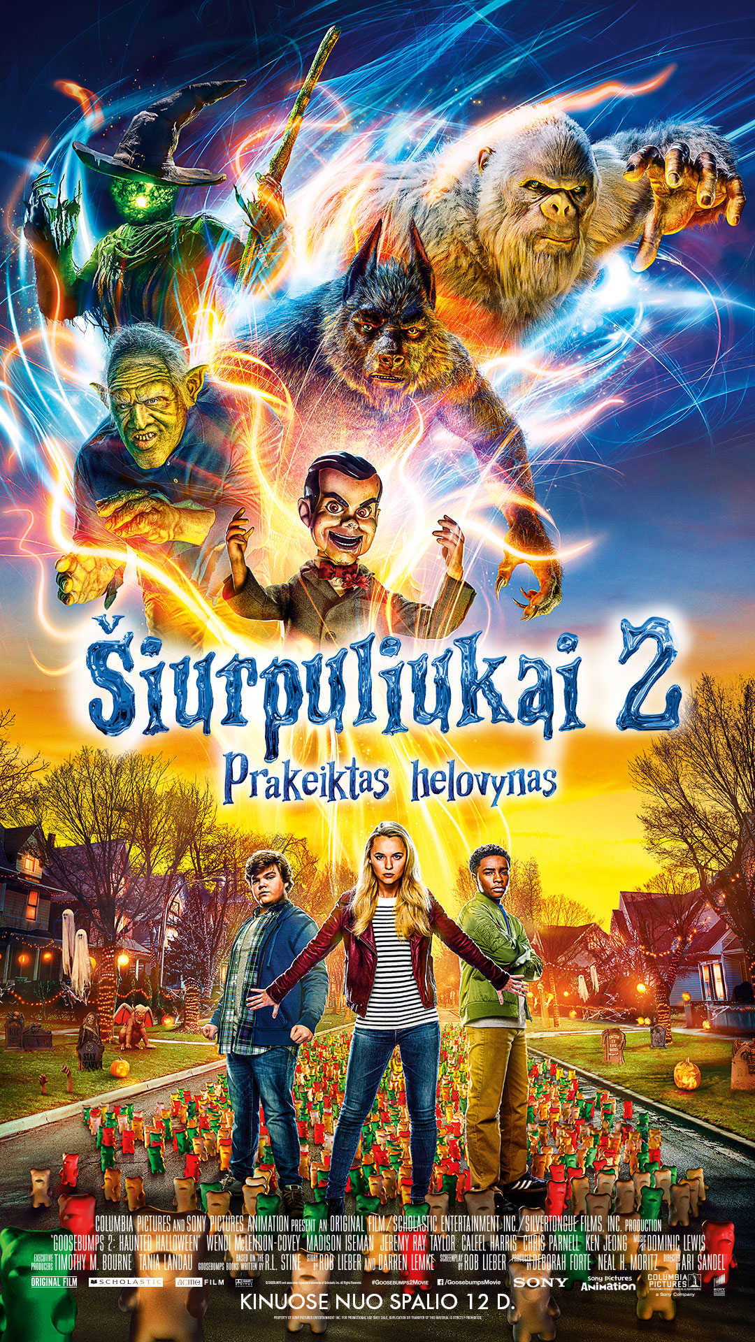 ŠIURPULIUKAI 2 (GOOSEBUMPS 2: HAUNTED HALLOWEEN)