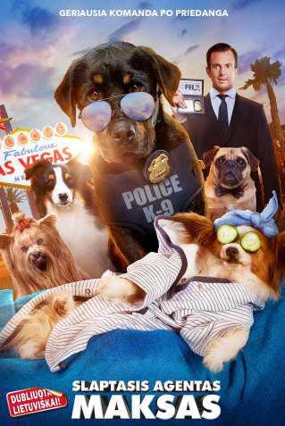 SLAPTASIS AGENTAS MAKSAS (Show Dogs)
