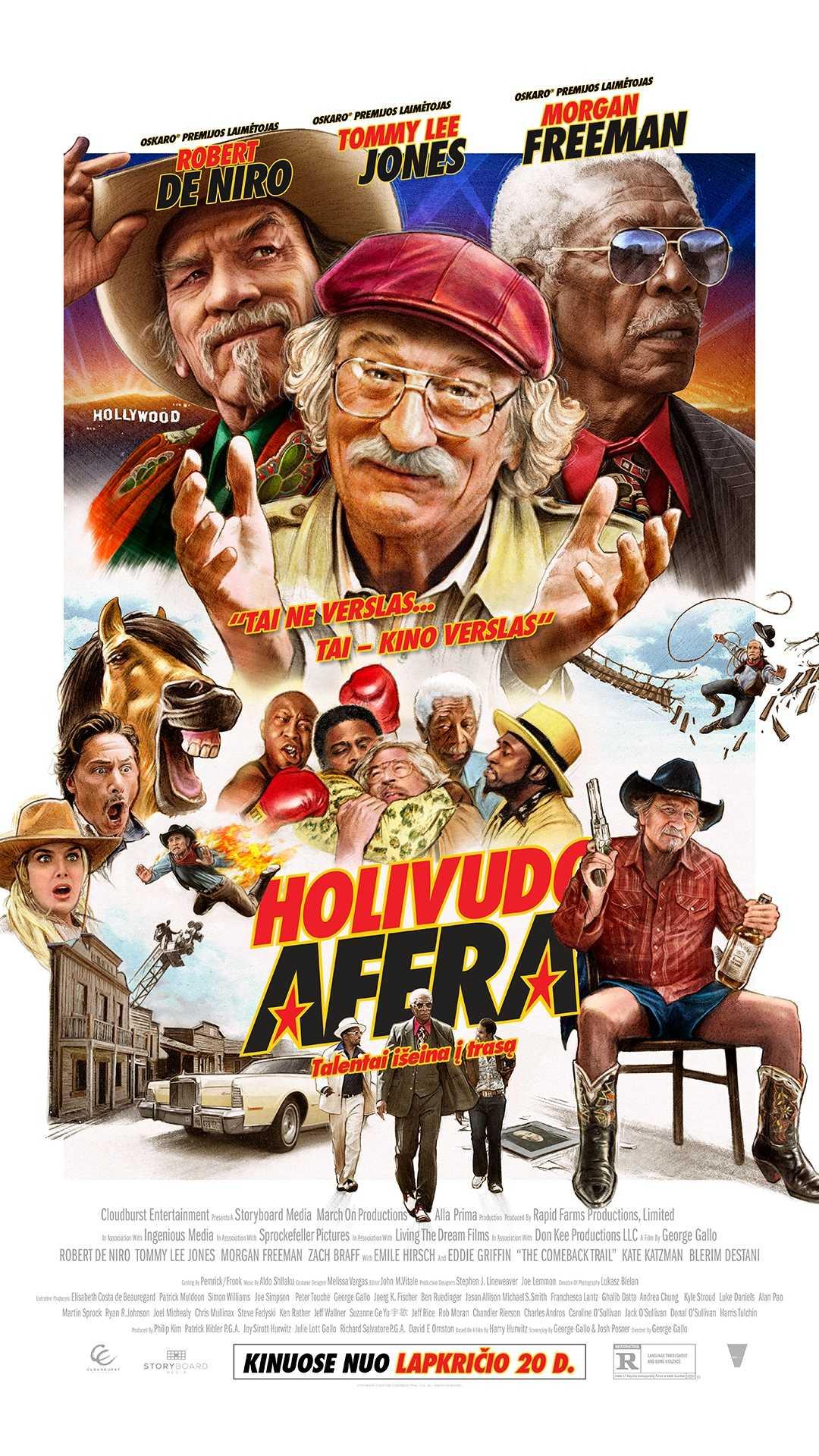 HOLIVUDO AFERA (Comeback Trail)