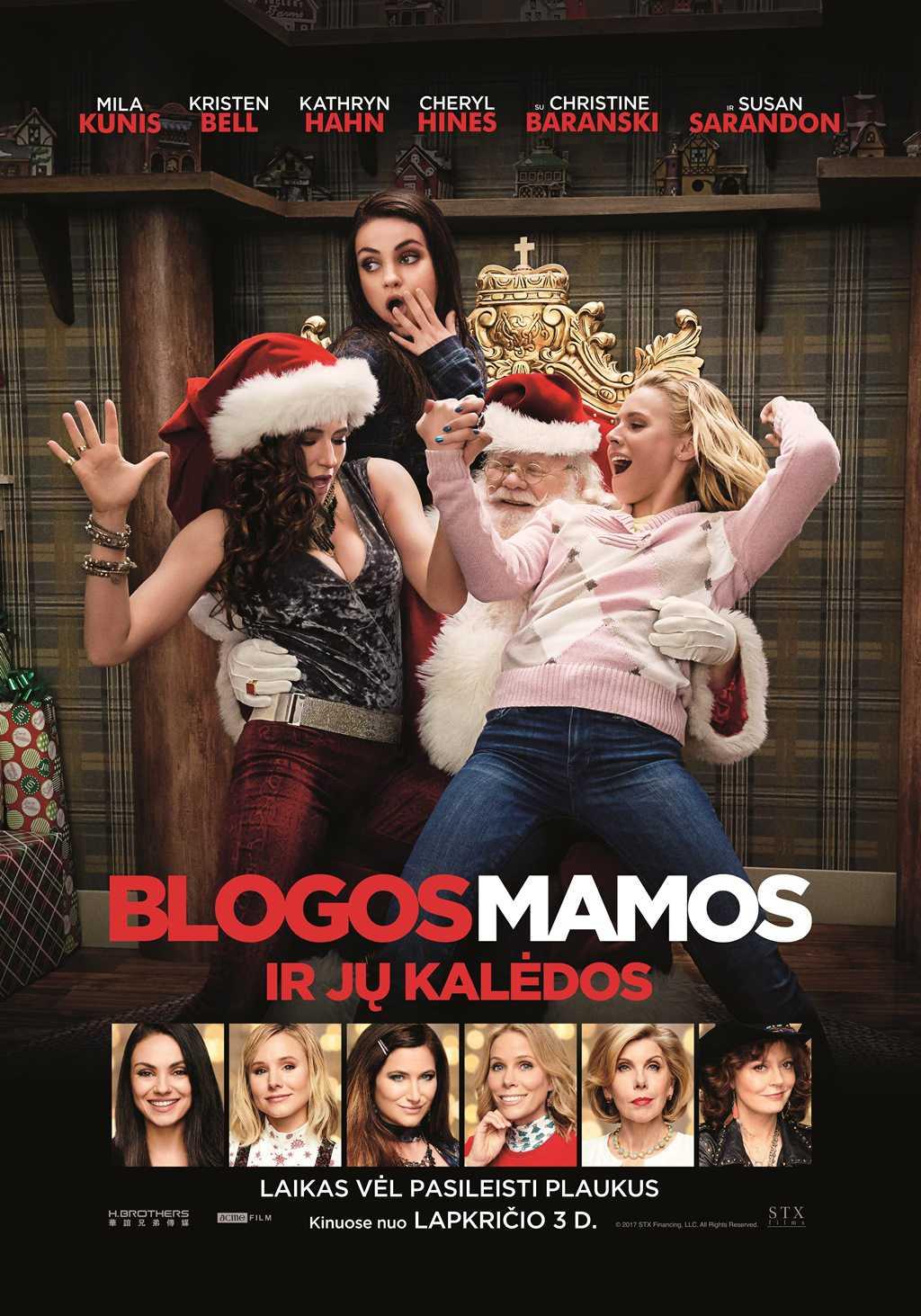 Blogos mamos ir jų kalėdos (Bad Moms Christmas)