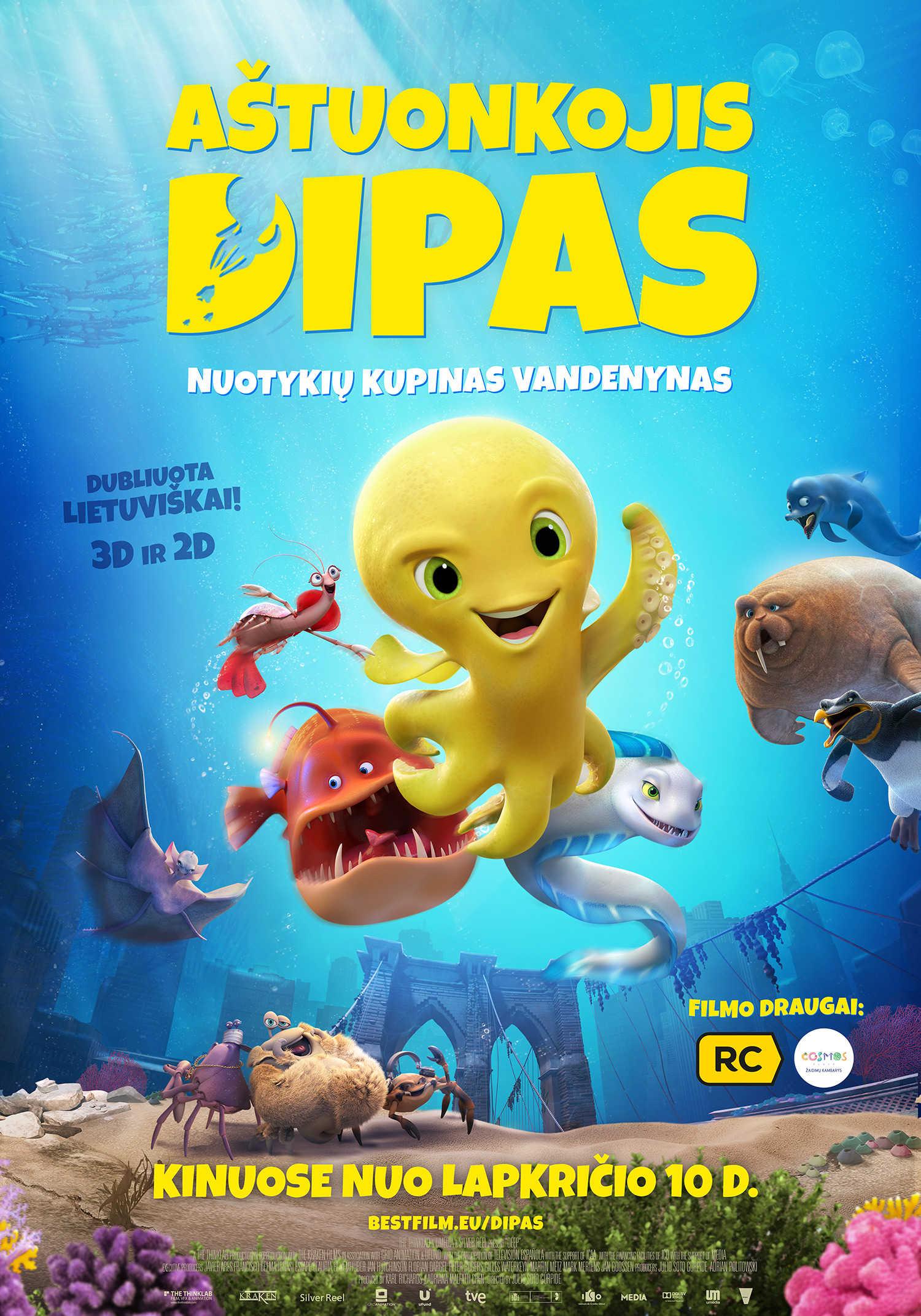 Aštuonkojis Dipas (Deep)