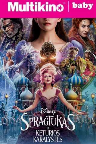 MultiBabyKino: Spragtukas ir keturios karalystės (The Nutcracker and the Four Realms)