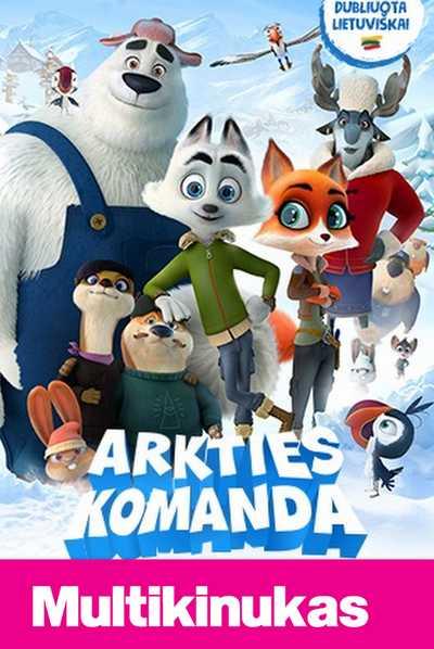 Multikinukas: ARKTIES KOMANDA (Arctic Dogs)