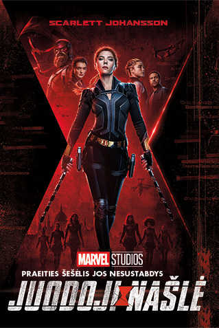 JUODOJI NAŠLĖ (Black Widow)