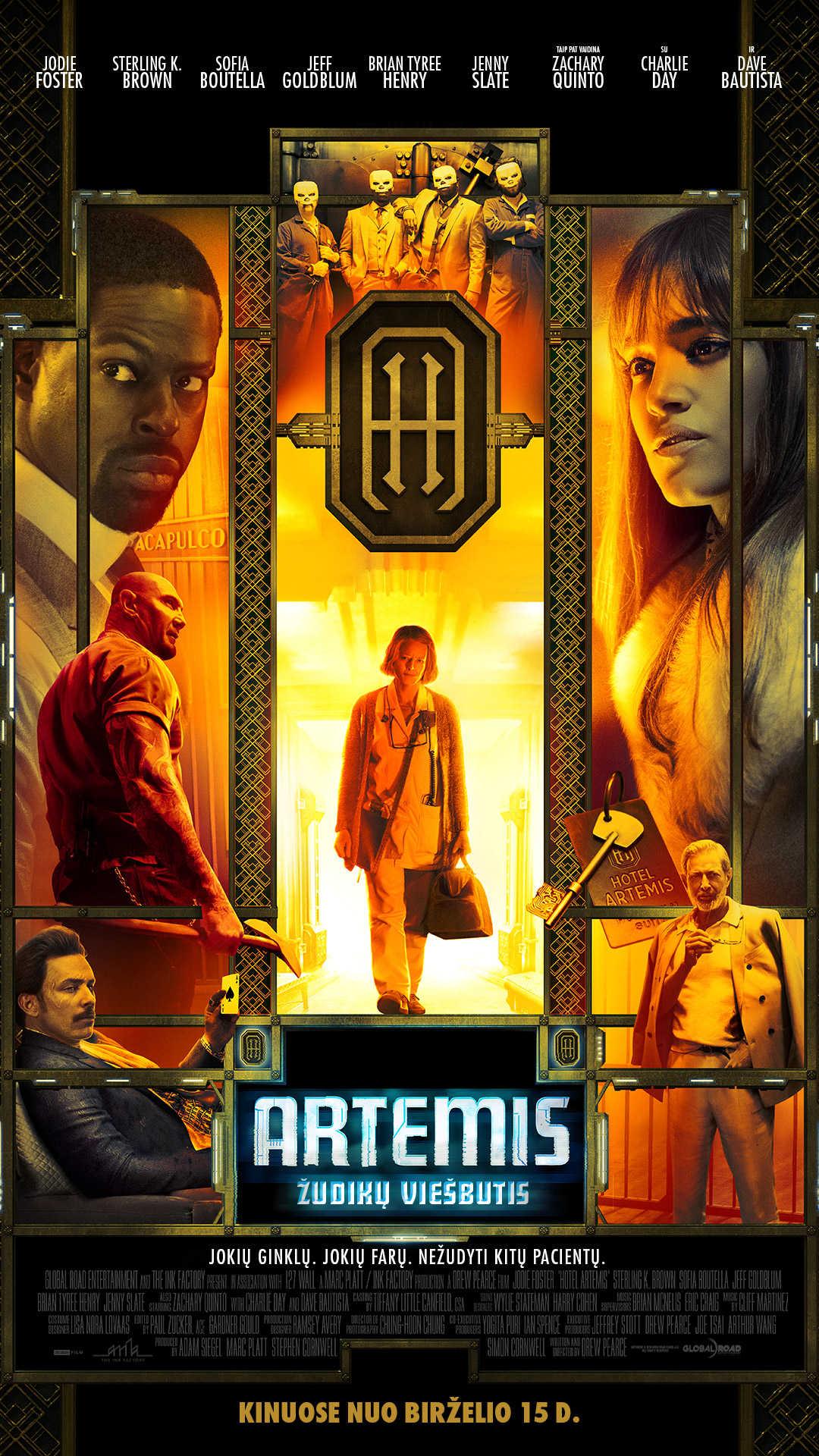 ARTEMIS: Žudikų viešbutis (Hotel Artemis)