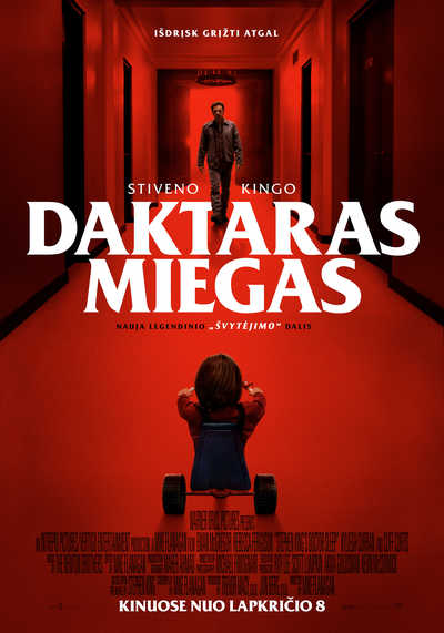DAKTARAS MIEGAS (Doctor Sleep)