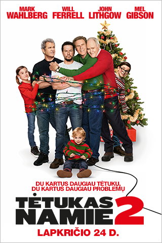 Tėtukas namie 2 (Daddy's Home 2)
