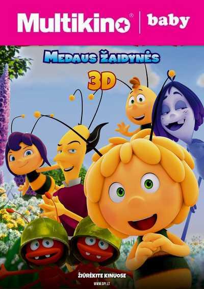 MultiBabyKino: Bitė Maja: Medaus žaidynės (Maya the Bee: The Honey Games)