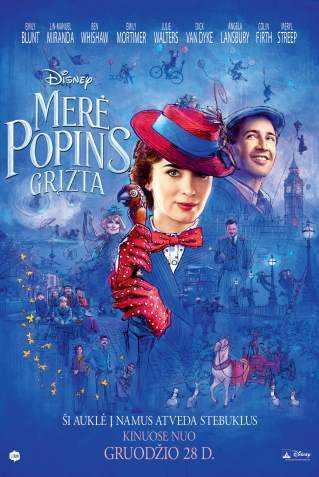 Merė Popins Sugrįžta (Mary Poppins Returns)