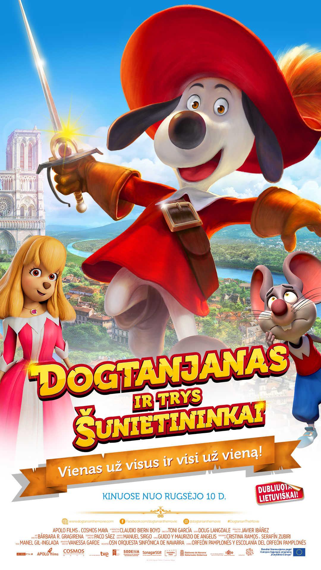 Dogtanjanas ir trys šunietininkai (Dogtanian and the Three Muskehounds)