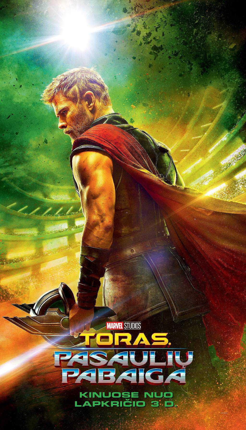 Toras. Pasaulių pabaiga (Thor: Ragnarok)