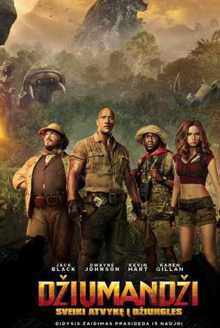 Džiumandži: Sveiki Atvykę Į Džiungles (Jumanji: Welcome To The Jungle)