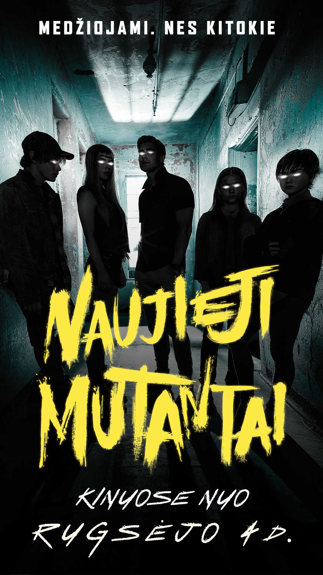 NAUJIEJI MUTANTAI (New Mutants)