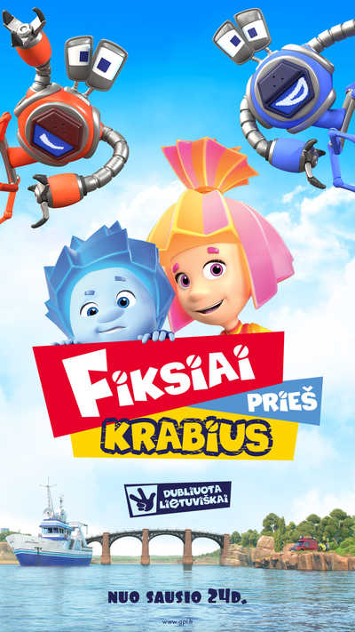 FIKSIAI PRIEŠ KRABIUS (Fixies vs. Crabots)