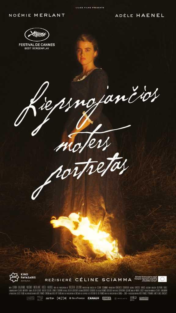 LIEPSNOJANČIOS MOTERS PORTRETAS (Portrait of A Lady on Fire)