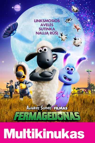 Multikinukas: Aviuko Šono filmas. Farmagedonas (Shaun the Sheep Movie: Farmageddon)