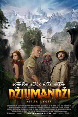 DŽIUMANDŽI: KITAS LYGIS (Jumanji: The Next Level)