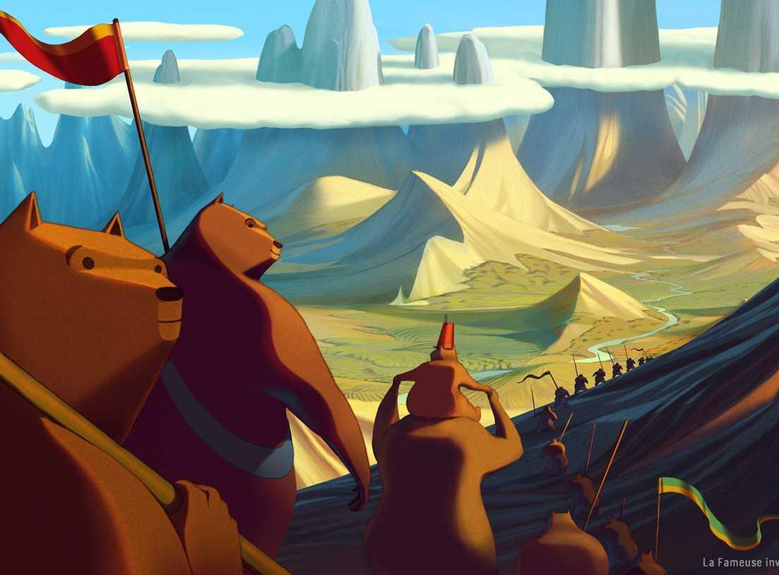 GARSIOJI MEŠKINŲ INVAZIJA Į SICILIJĄ (The Bears' Famous Invasion Of Sicily)