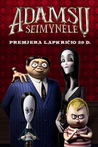 ADAMSŲ ŠEIMYNĖLĖ (The Addams Family)