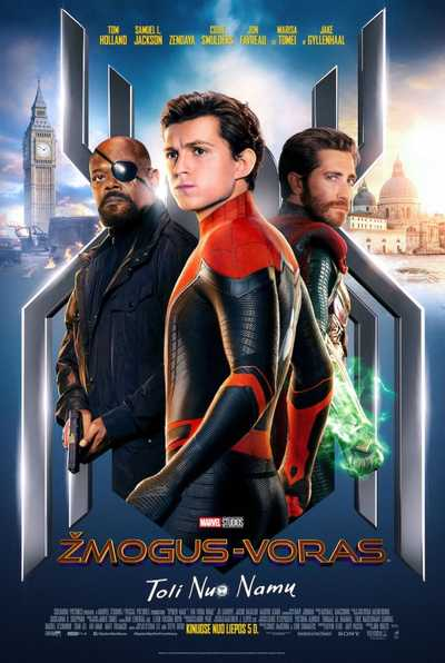 ŽMOGUS-VORAS: TOLI NUO NAMŲ (SPIDER-MAN: FAR FROM HOME)