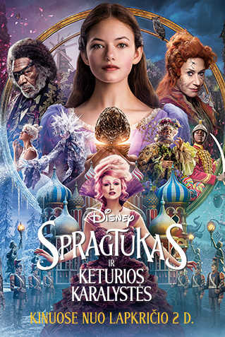 Spragtukas ir keturios karalystės (The Nutcracker and the Four Realms)