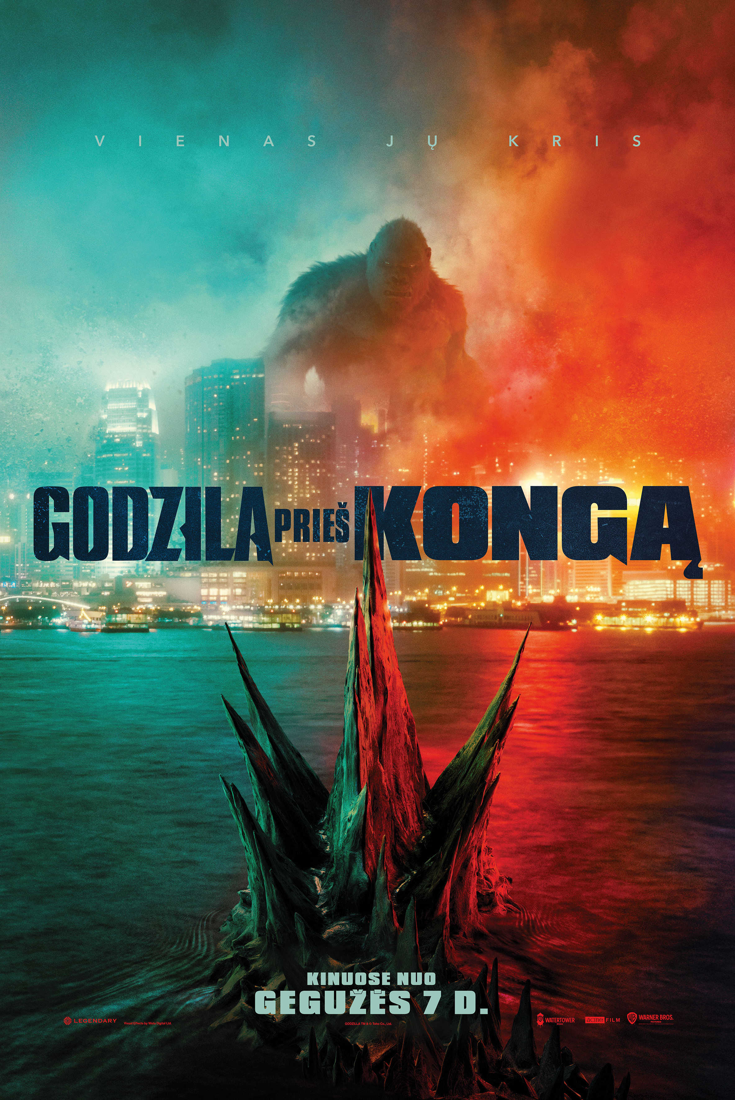 Godzila prieš Kongą (Godzilla vs. Kong)