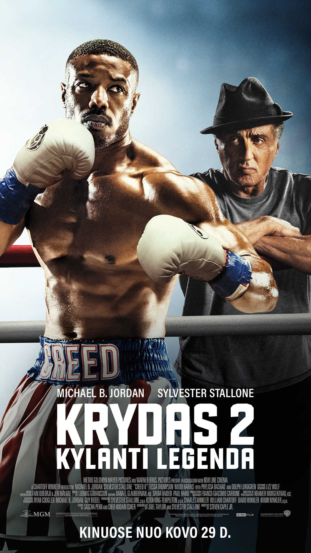 KRYDAS II: KYLANTI LEGENDA (Creed 2)