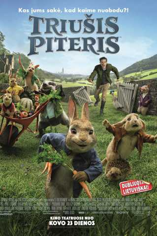 Triušis piteris (Peter Rabbit)