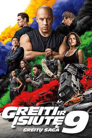 GREITI IR ĮSIUTĘ 9 (Fast & Furious 9)