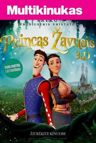 Multikinukas: PRINCAS ŽAVUSIS (Charming)