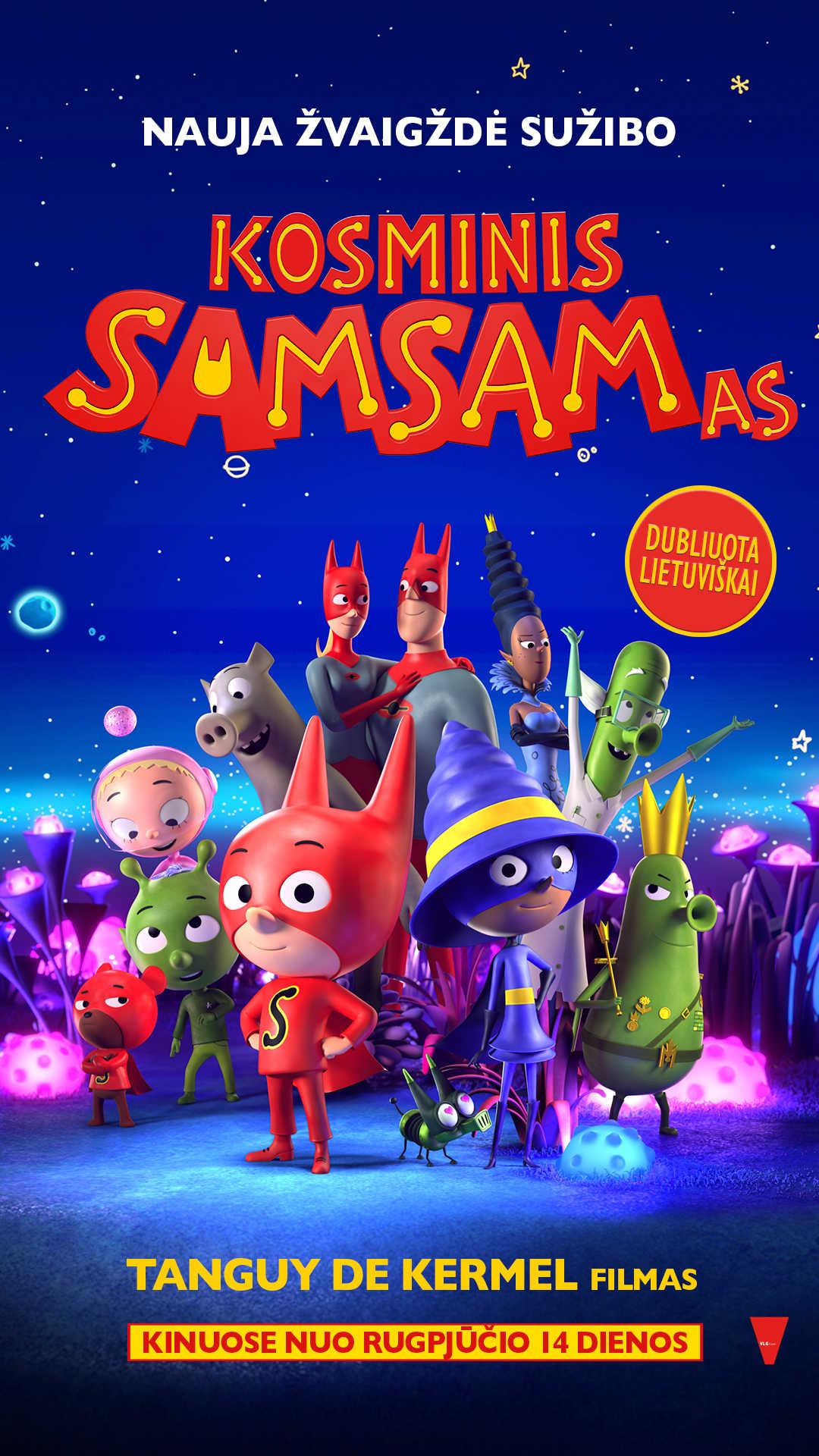 KOSMINIS SAMSAMAS (SamSam)