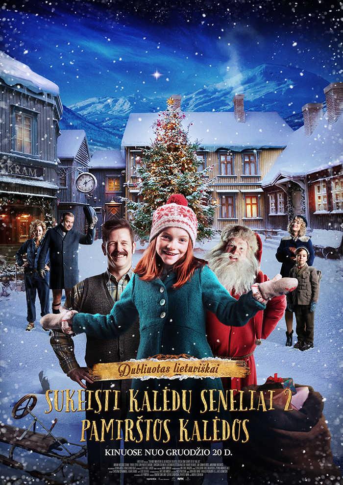 SUKEISTI KALĖDŲ SENELIAI 2. PAMIRŠTOS KALĖDOS (Santa Swap 2. Forgotten Christmas)