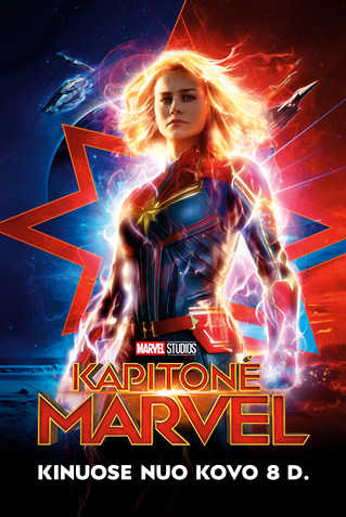 Kapitonė Marvel (CAPTAIN MARVEL)